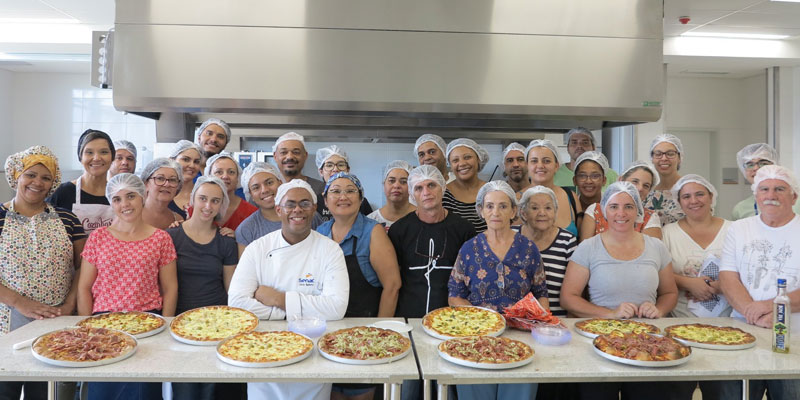 Workshop: Pizzas Doces e Salgadas no Senac Salto